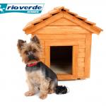 cuccia cane con cane biondo noce