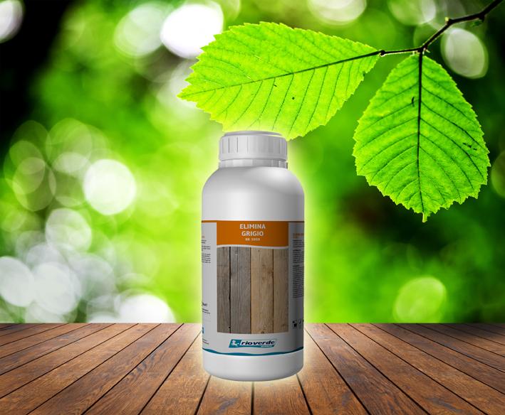 Elimina grigio è il rimedio per il legno ingrigito