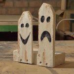 Fantasmini in legno