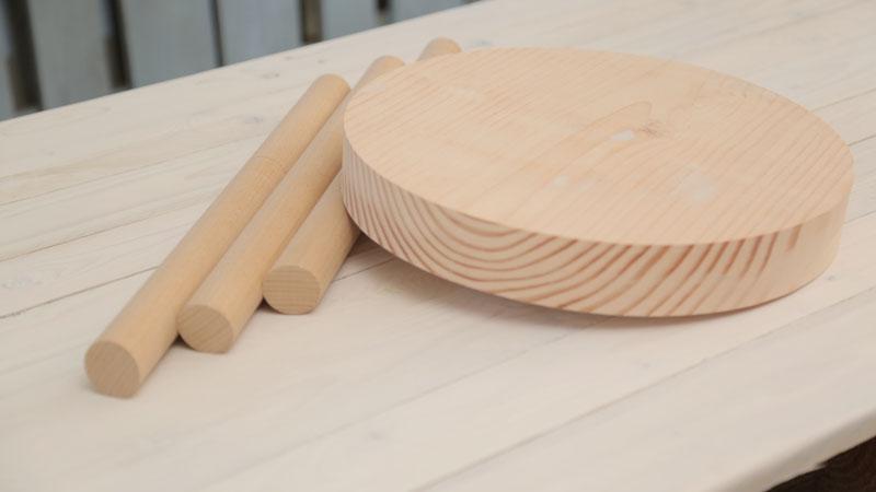 Realizzare uno sgabello in legno in pochi passi rio verde