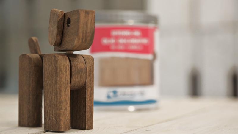 Cagnolino in legno 1