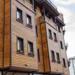 Impregnante per legno su una casa