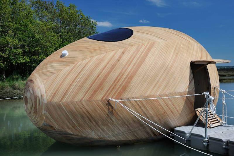 case in legno galleggianti