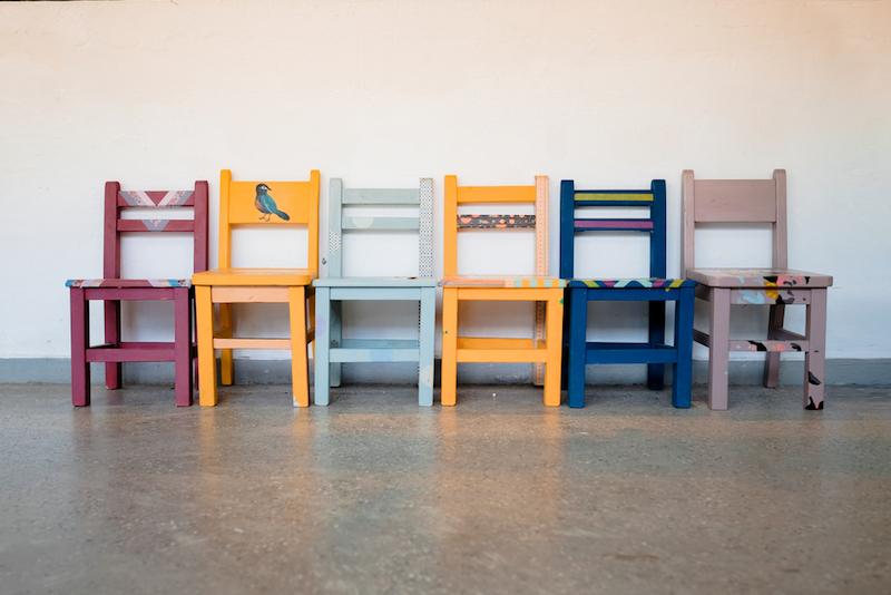 manutenzione degli arredamenti in legno sedie