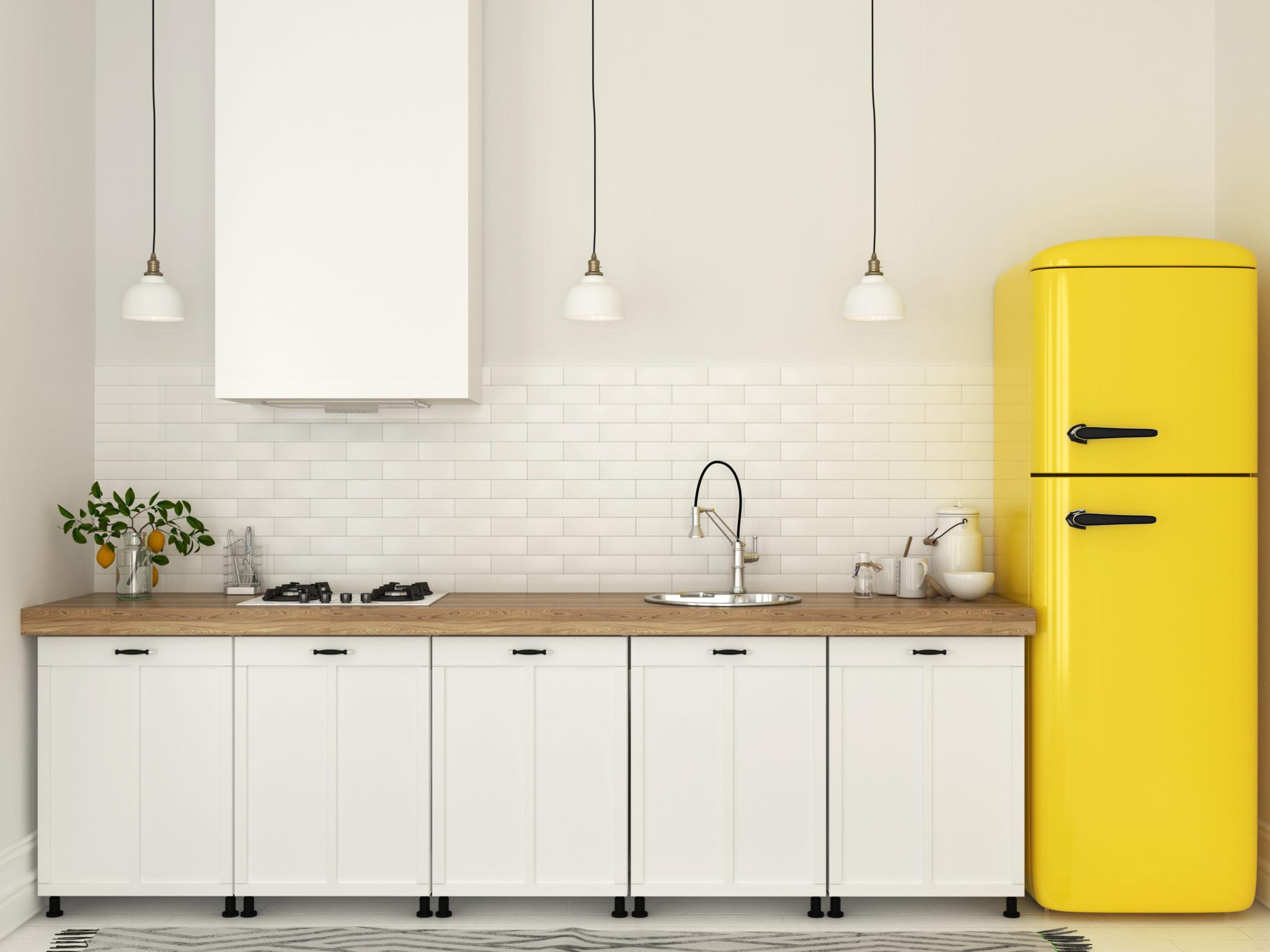 Vernice per il legno bianca coprente un tocco di candore - Smalto ad acqua per cucina ...