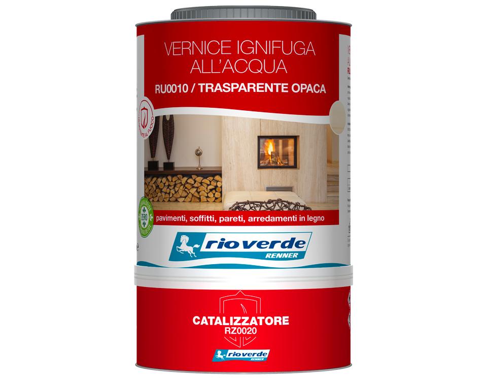 Kit vernice ignifuga Rio Verde per la casa