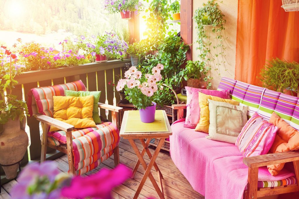 Mix & match per terrazze e balconi coloratissimi