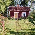 Un cottage, il villino di campagna simbolo del cottagecore