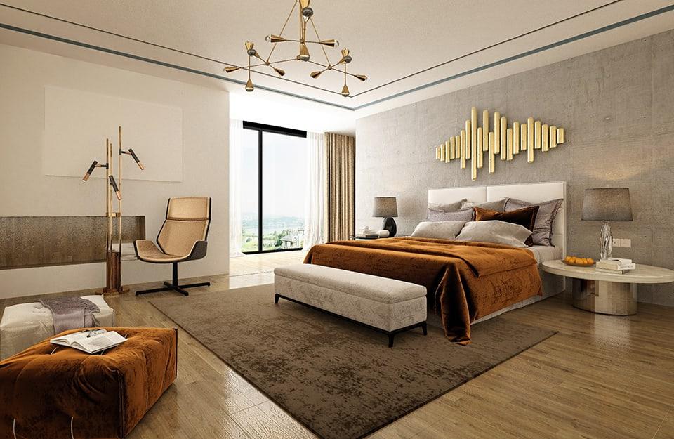 Un mini-salotto in camera da letto