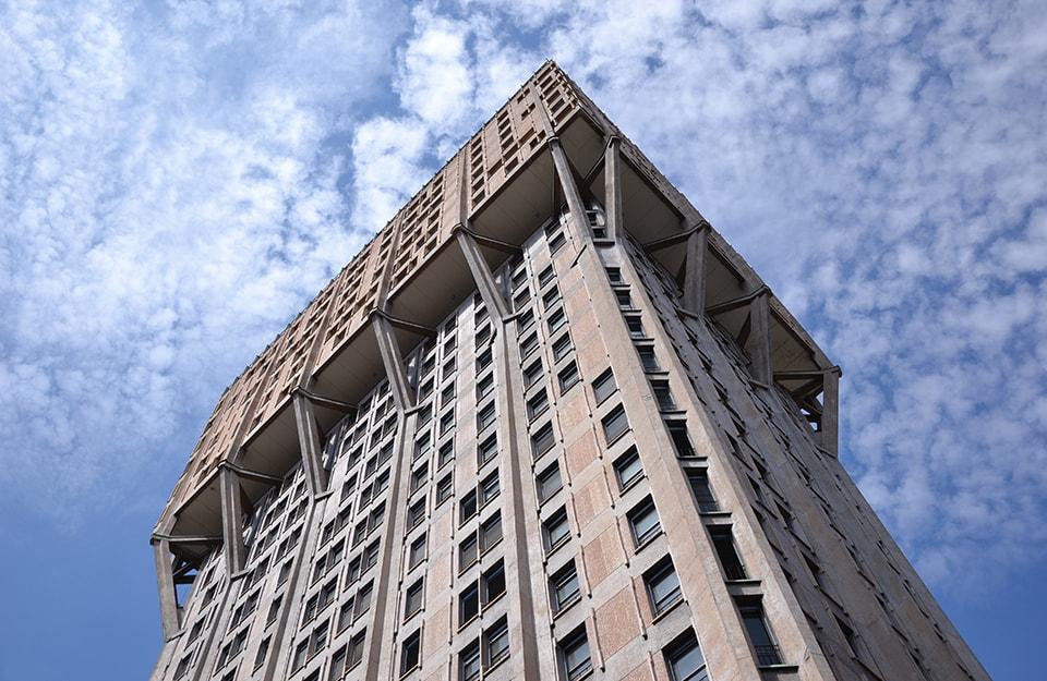 Open House Milano: Torre Velasca: parte di uno degli itinerari organizzati durante Open House Milano 2020