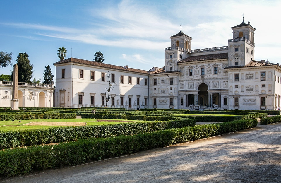 Open House Roma: Villa Medici, a Roma. Visitata durante l'edizione 2019 di Open House.